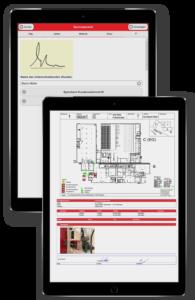 Digitaler Servicebericht BMAcloud BMA Wartung
